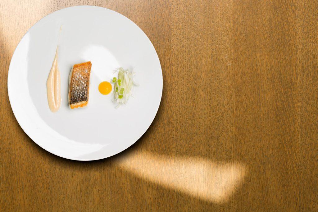 eccellenze campane, il ristorante Caracol, una stella Michelin, i secondi