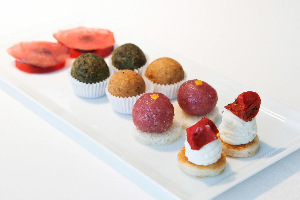 esperienze di gusto al Reale, ristorante 3 stelle Michelin, di Niko Romito. gli antipasti