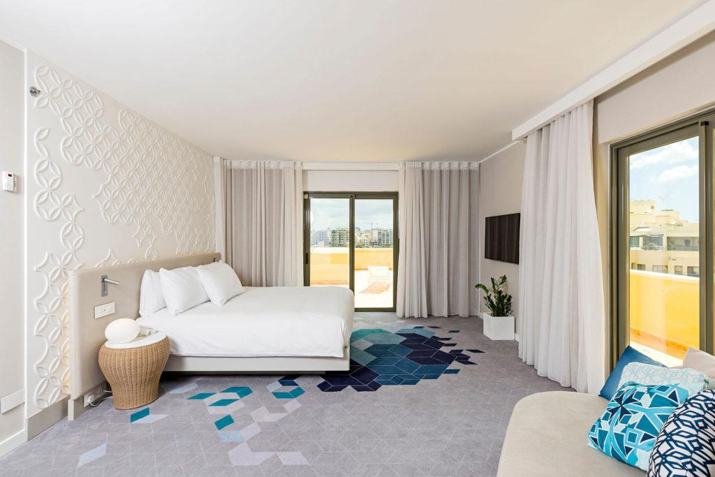 fotografo accreditato per la Hilton. fotografie della struttura Hilton Malta