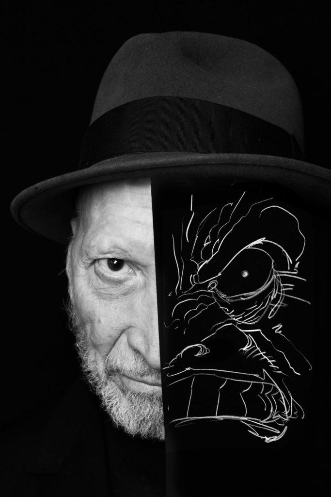 ri-tratti i protagonisti del fumetto fotografati da simone florena, Frank Miller